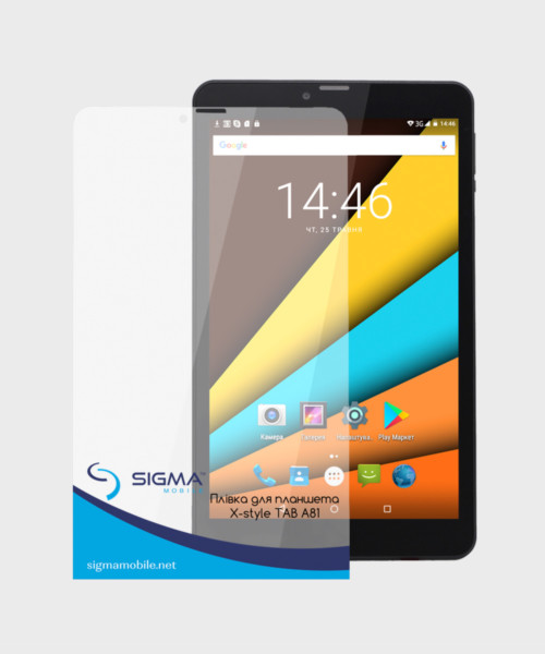 Protective film for Sigma mobile X-style Tab A81/A82